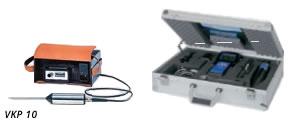 Ultrasonic sound testing instrument