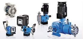 Dosing and feed pumps